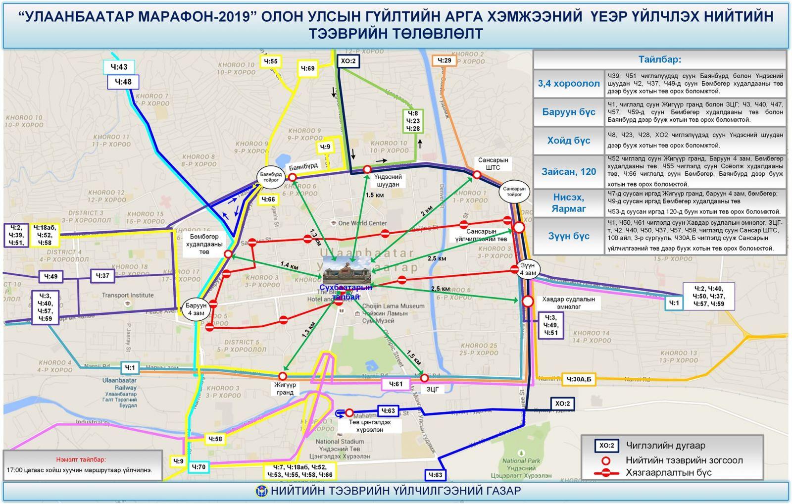 """gvilt06 """"Улаанбаатар марафон-2019"""" олон улсын гүйлтийн тэмцээн энэ сарын 18-нд болно"""