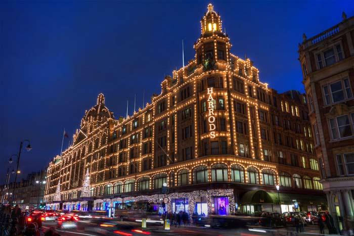 Лондон зул сарын баярыг зурган илэрцүүд